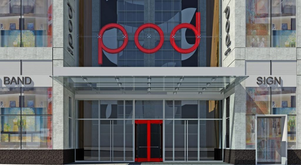 BD Hotels Opens Pod Times Square A 40Pod MicroHotel Concept Inspiration Two Bedroom Suites In Nyc Concept Design